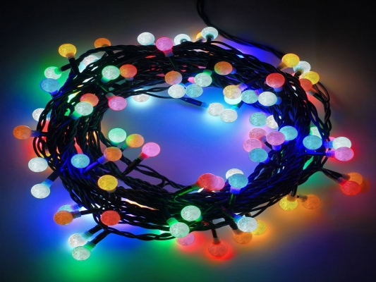 LED Diamond String Lights