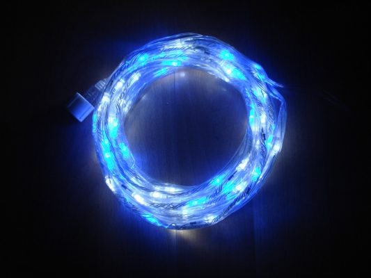 Blue White Small LED Rope Lights