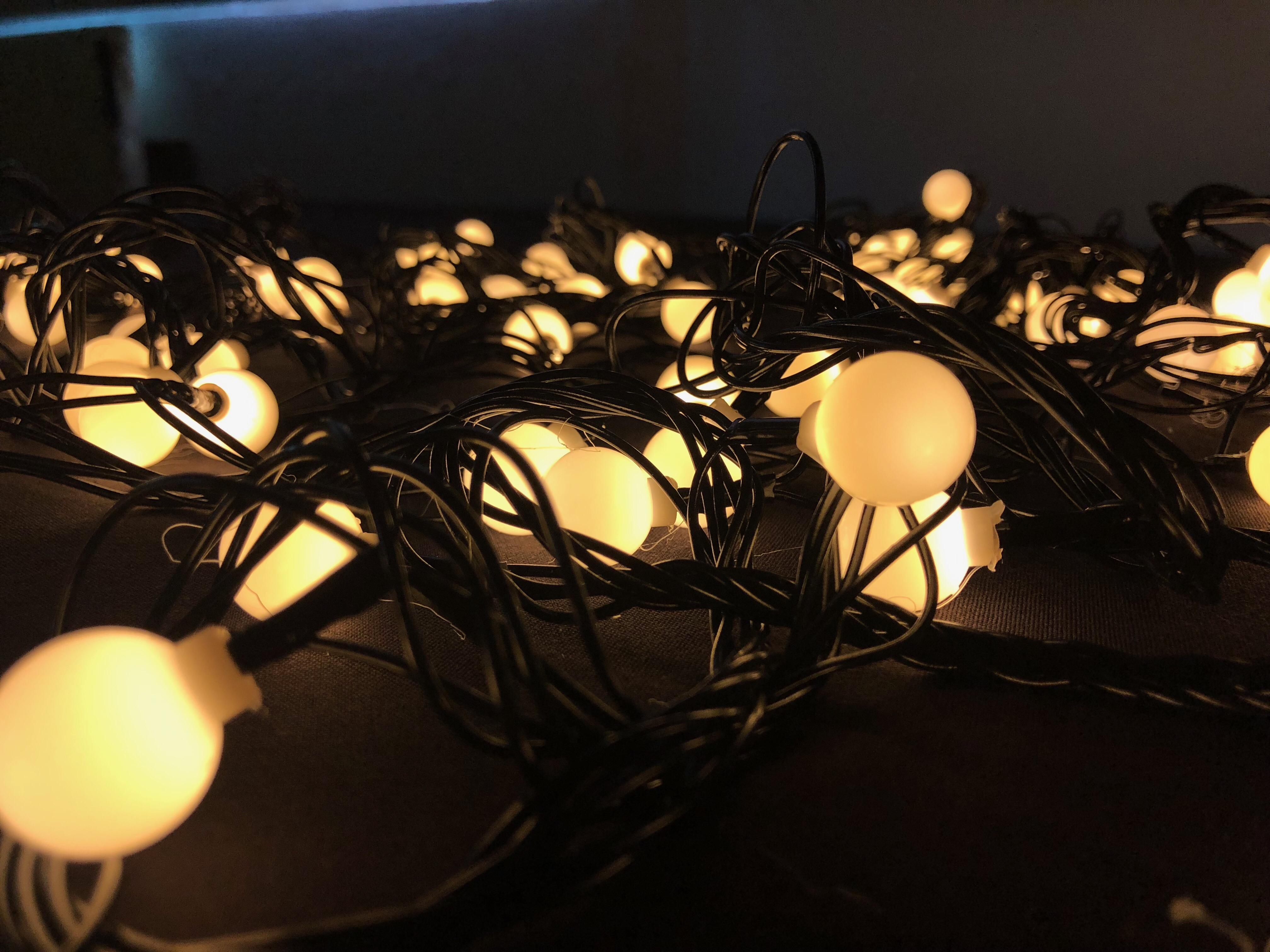 Pearl String Lights-Warm White