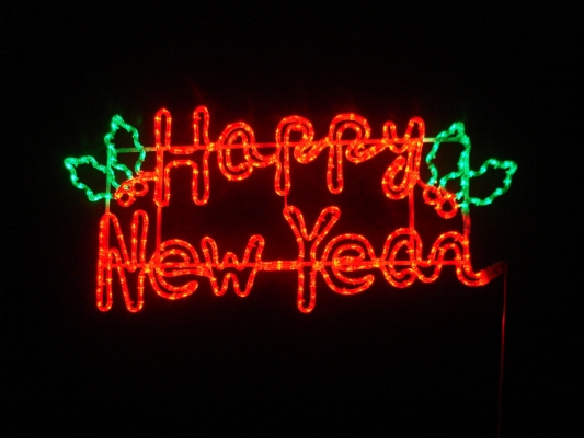 LED Happy New Year
